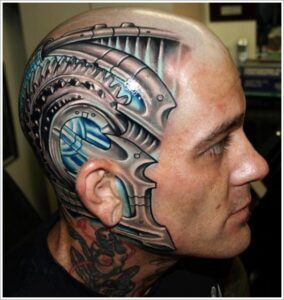 Biomechanical Style Tattoos